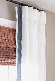 Textured Cotton Tie Top Drape by Best 25 White Linen Curtains Ideas On Pinterest White Curtains