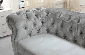 Fabric Sofa Set Divani Casa Alexandrina Grey Tufted Fabric Sofa Set By Vig