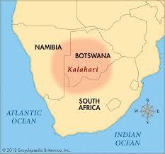 africa map kalahari coastal desert lessons tes teach