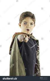 merlin wizard costume young boy dressed wizard costume holding stock photo 152691275