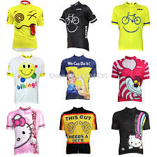 cartoon beer can 2015 new women men novelty cartoon cycling jersey cheshire cat we