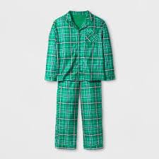 boys plaid flannel pajamas target