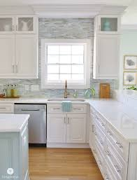 how to install tile backsplash kitchen installing a paper faced mosaic tile backsplash