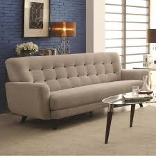 Button Tufted Sofas by Maguire Contemporary Sofa With Contrast Buttons Coaster 504771