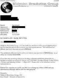 barclays bank sample debt settlement letter leave debt behind