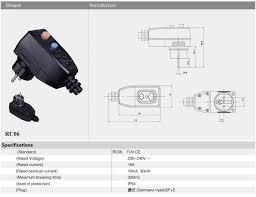 prcd germany schuko plug rcd portable plug rewirable buy rcd