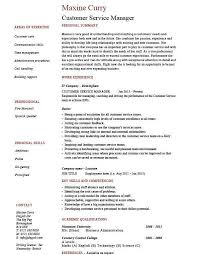 customer service manager resume examples lukex co
