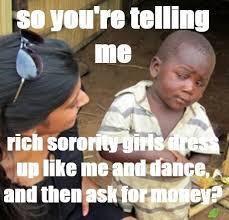 Dancing African Child Meme - suspicious african boy meme mne vse pohuj