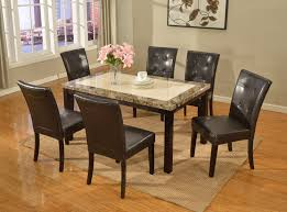 Accent Chairs For Dining Room Marble Top Dining Table Dining Tableswhite Marble Top Table Solid