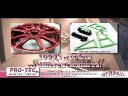 pro tec powder coating youtube