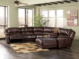 Cindy Crawford Rugs Living Room Decor With Black Leather Sectional Chaise Sofa With