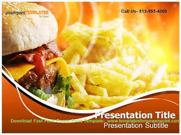 Online Downaload Fast Food Powerpoint Template Authorstream Fast Food Ppt