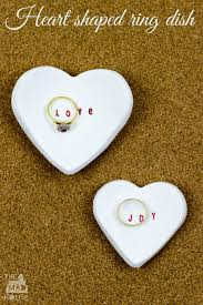 microwave clay heart shaped ring dish mum in the madhouse