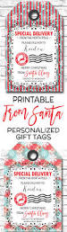 printable christmas gift tags personalized from santa gift tags