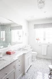 bathroom with marble octagon tiles transitional bathroom