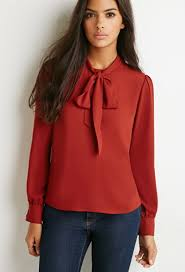 blouses with bows at neck bow high neck blouse tops blouses shirts sleeves