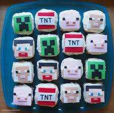 minecraft cupcake ideas minecraft party ideas cake cupcakes party favors