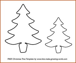 printable christmas tree sop example