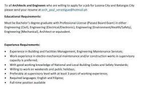 Send Your Resume At Ar Paul William Verastigue Uap Professional Profile