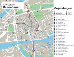 map of copenhagen copenhagen maps denmark maps of copenhagen