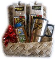 coffee baskets hawaiian coffee gift baskets direct from the hawaiian coffee