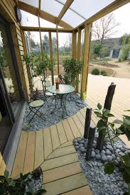 organic bioclimatic house in brittany with eco friendly landscaping