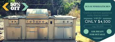 Dcs Outdoor Kitchen - clearance appliances scratch u0026 dent appliances in texas