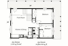 simple log house plan home design and style