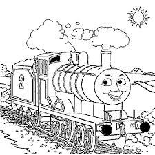 thomas train pictures color coloring