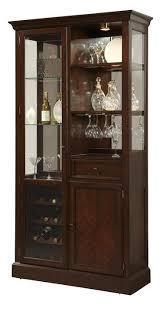 Pulaski Furniture Curio Cabinet by Pulaski Furniture Curios Curio Wine Cabinet W Led Lighting