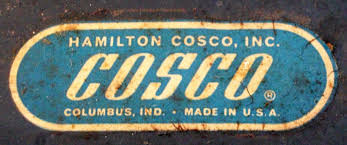 Cosco Bar Stool Pair White Cosco Stools Herman Miller Style Brass Lantern Antiques