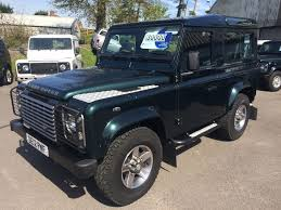 white land rover defender 90 mj fews used cars gloucestershire