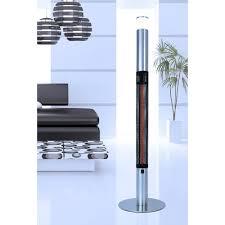 Lava Heat Italia Patio Heater by Lava Heat Infrared Column 1500 Watt Electric Patio Heater Wayfair