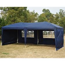 10x10 Canopy Tent Walmart by Outsunny 10 U0027 X 10 U0027 Pop Up Canopy Shelter Party Tent With Mesh