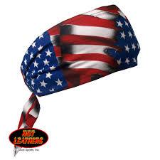 American Flag Suspenders Leathers American Flag Old Bandana