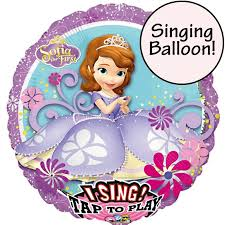singing balloon sofia the singing balloon delivered inflated in uk