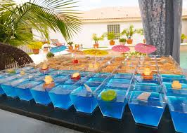 cool beach birthday pool party dessert