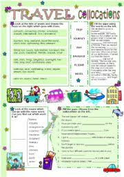 english teaching worksheets collocations