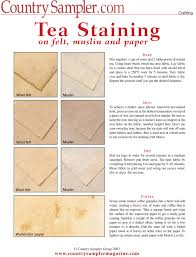 Tea Staining With Pictures by Tea Staining On Felt Muslin And Paper Fabric Dye Pinterest