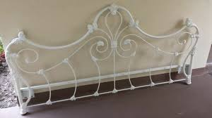 Rod Iron Headboard Wrought Iron Headboards For Size Beds Glamorous Bedroom Design