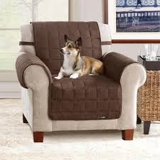 slipcover for recliner chair furniture brown recliner chair slipcover and sure fit suede