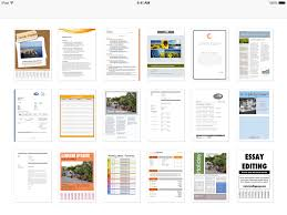 Word Document Templates Resume Templates For Word For Ipad Iphone And Ipod Touch Made For Use