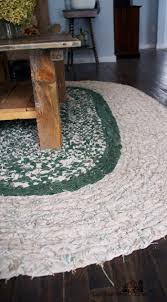 Modern Area Rugs Sale Decoration Small Oval Accent Rugs Wool Blend Braided Rugs Sale