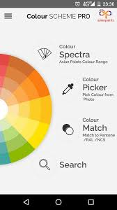 colour scheme pro asian paints android apps on google play