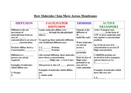 new aqa as biology cell membrane diffusion fac diff osmosis