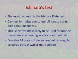 Most Common Type Of Color Blindness Color Vision Deficiency And Ishihara U0027s Test