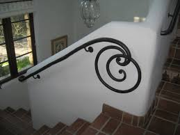 Wrought Iron Banister Rails Custom Wrought Iron Railings By Master Architectural Blacksmith