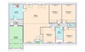plan maison plain pied 4 chambres avec suite parentale plan maison 4 chambres suite parentale fabulous img img with plan