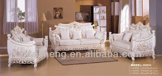Gold Fabric Sofa S2810 B Foshan Shunde Furniture Classic Gold Leaf Finshing
