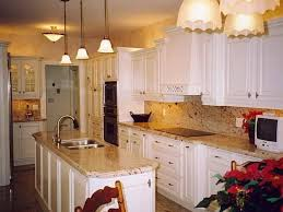 Kitchen Cabinets With Granite Countertops by White Cabinet Granite Impressive Home Design